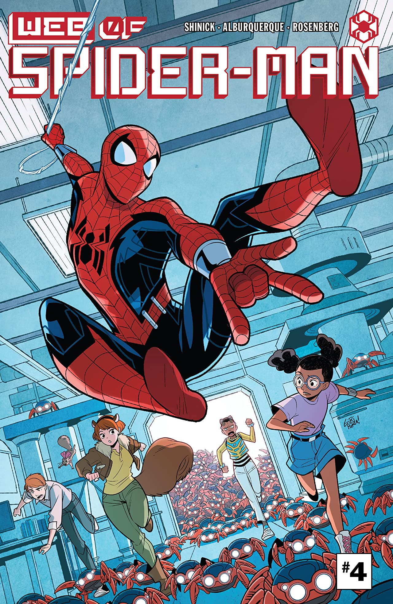 W.E.B. Of Spider-Man (2021) #4 (of 5)