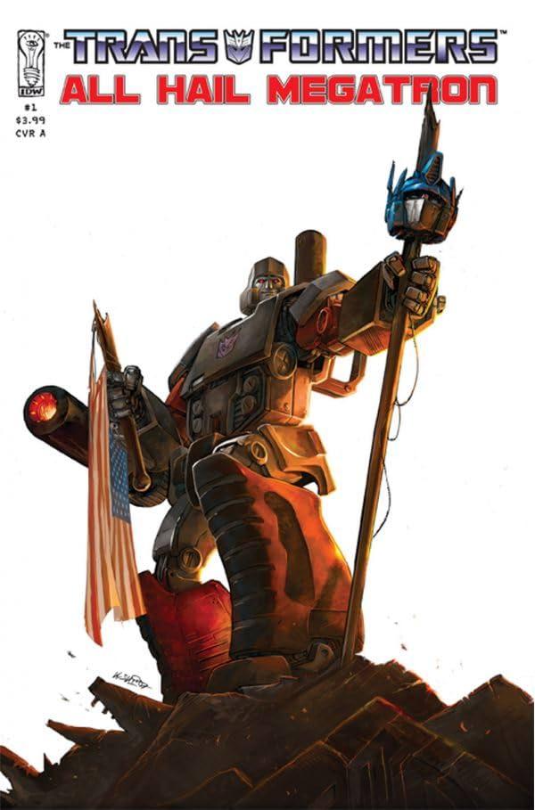Transformers: All Hail Megatron #1
