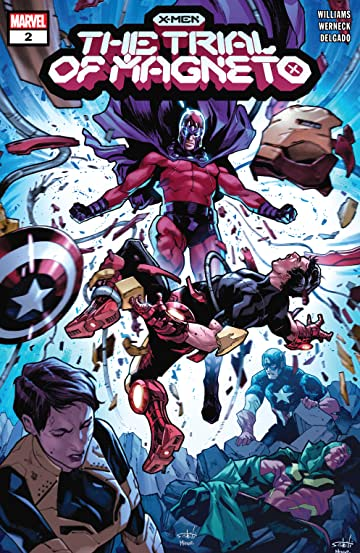 X-Men: The Trial Of Magneto (2021) #2 (of 5)