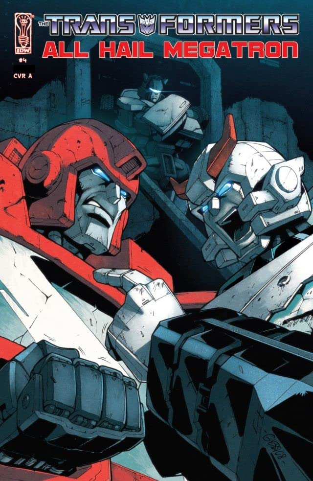 Transformers: All Hail Megatron #4