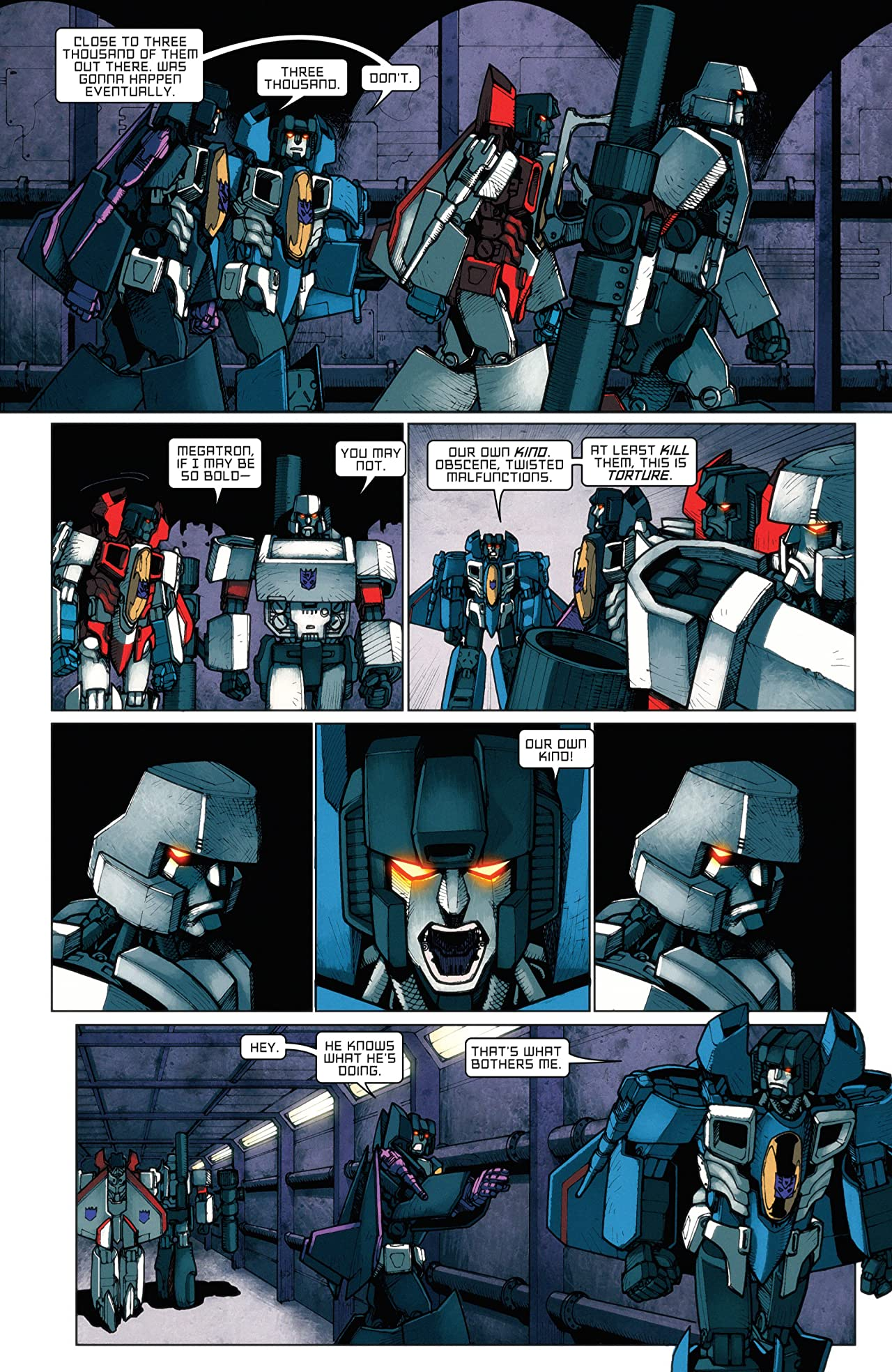 Transformers: All Hail Megatron #7