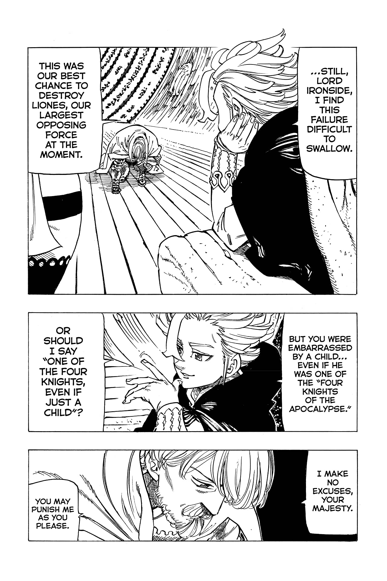 The Seven Deadly Sins: Four Knights of the Apocalypse #23
