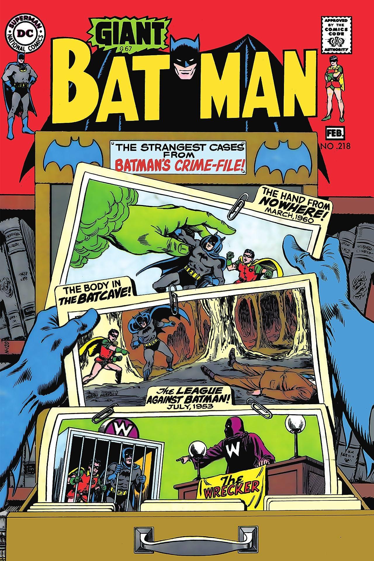 Batman (1940-2011) #218