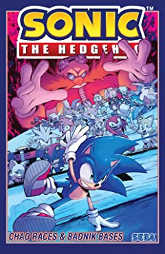 Sonic the Hedgehog Vol. 9: Chao Races & Badnik Bases