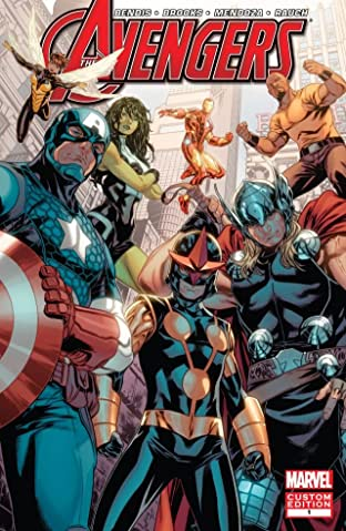 Avengers: Heroes Welcome No.1