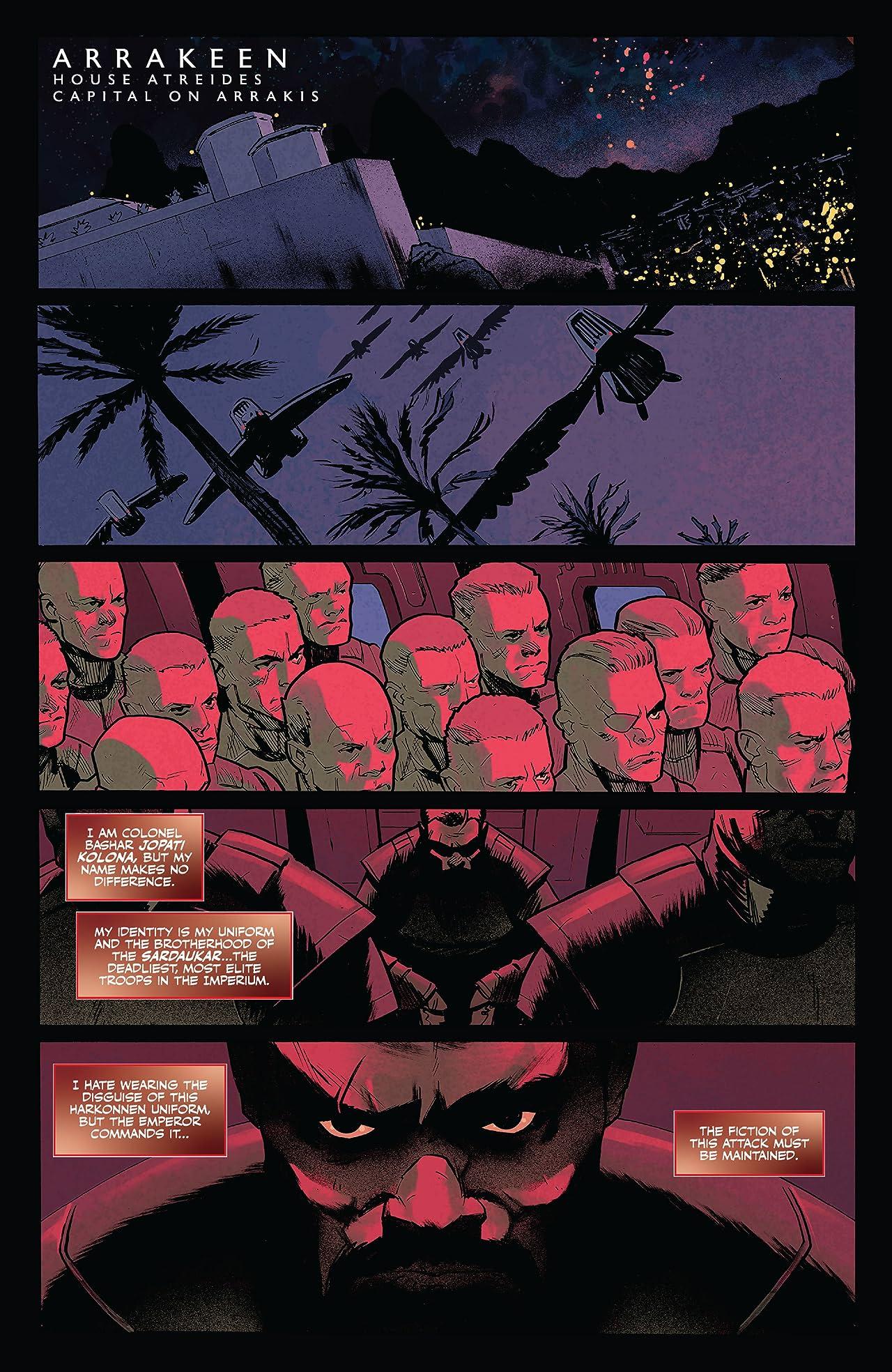 Dune: Blood of the Sardaukar #1