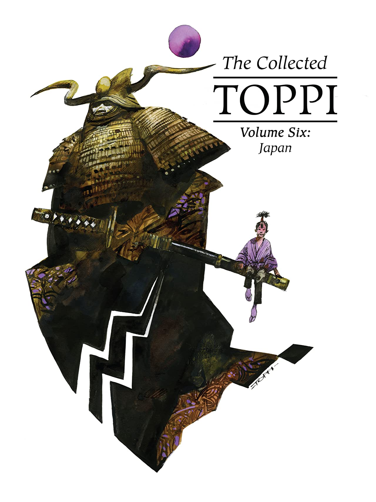 The Collected Toppi OGN Vol. 6: Japan