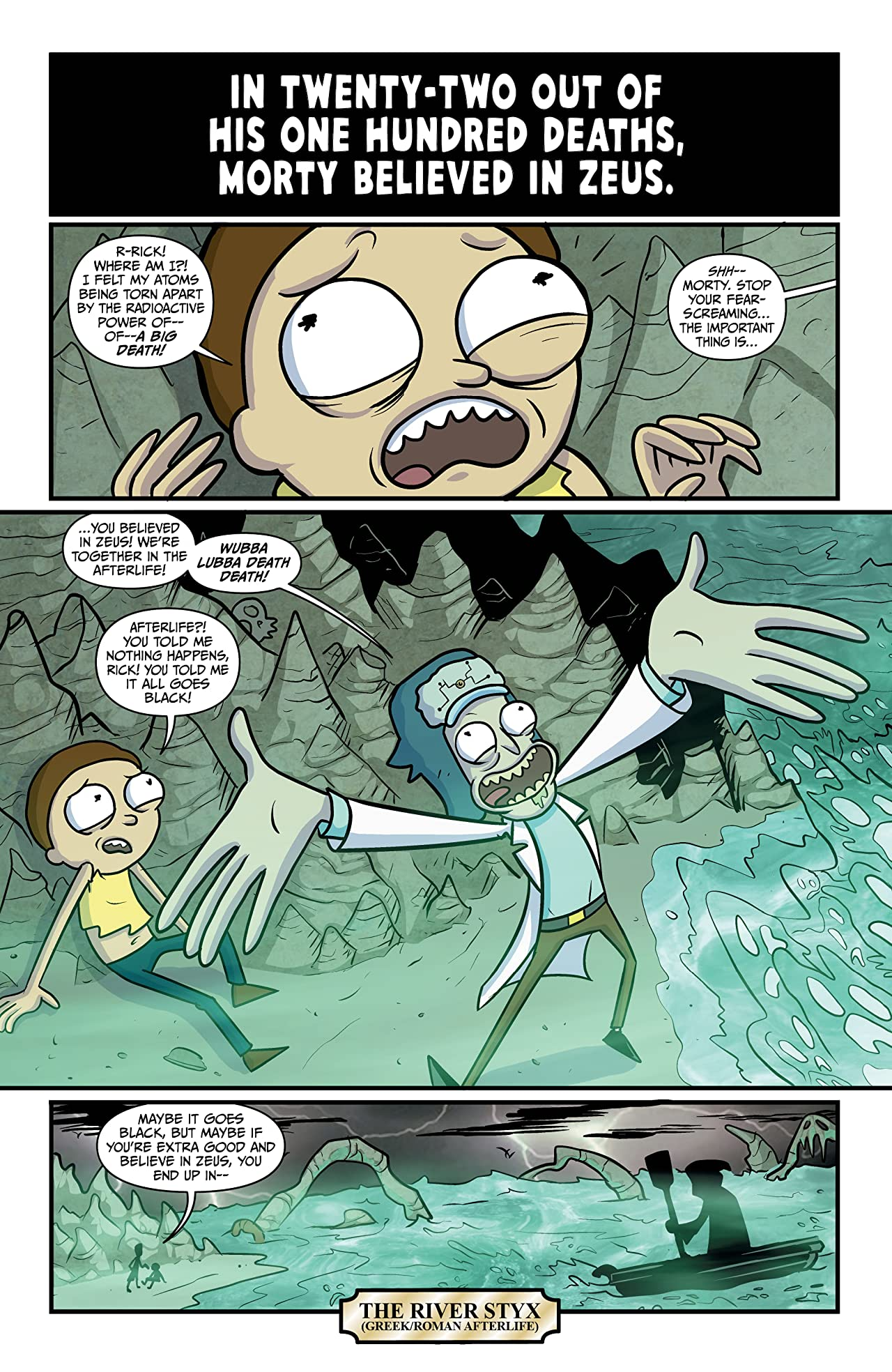 Rick and Morty #3: Rick's New Hat