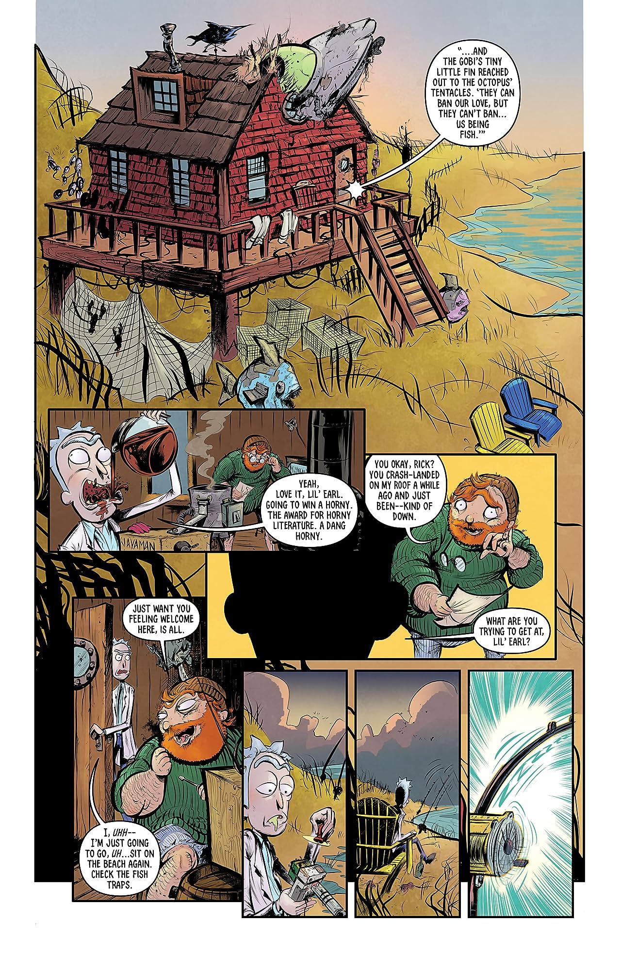 Rick and Morty #1: Mr. Nimbus