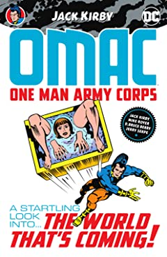 OMAC (1974-1975): One Man Army Corps by Jack Kirby