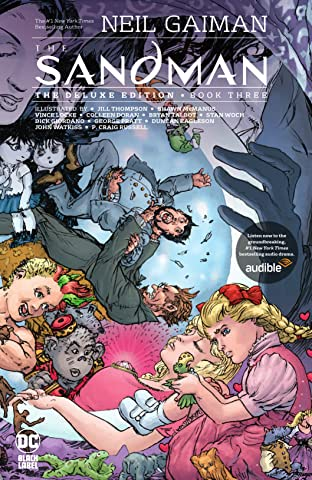 The Sandman Tome 3: The Deluxe Edition Book Three
