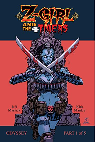 Z-Girl and the 4 Tigers #1
