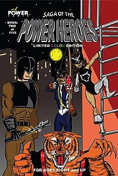 Saga of the Power Heroes #2
