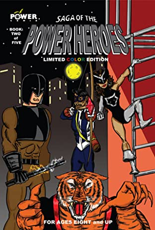 Saga of the Power Heroes No.2