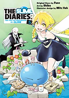 The Slime Diaries: That Time I Got Reincarnated as a Slime Tome 5