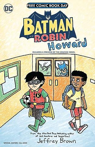 Batman and Robin...and Howard/Amethyst: Princess of Gemworld Special Edition Flipbook (FCBD) #1: 2021
