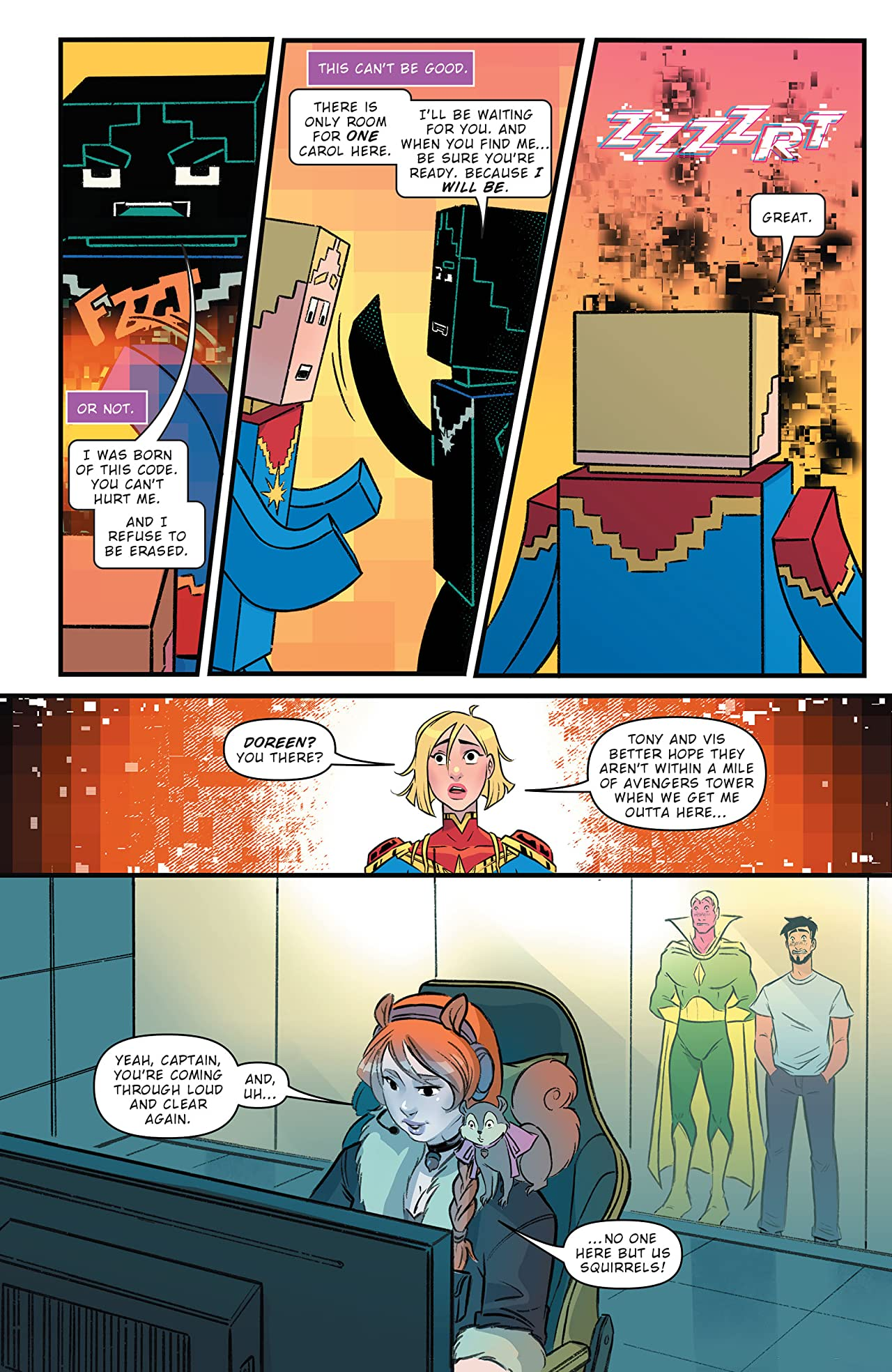 Marvel Action Captain Marvel (2021-) #5