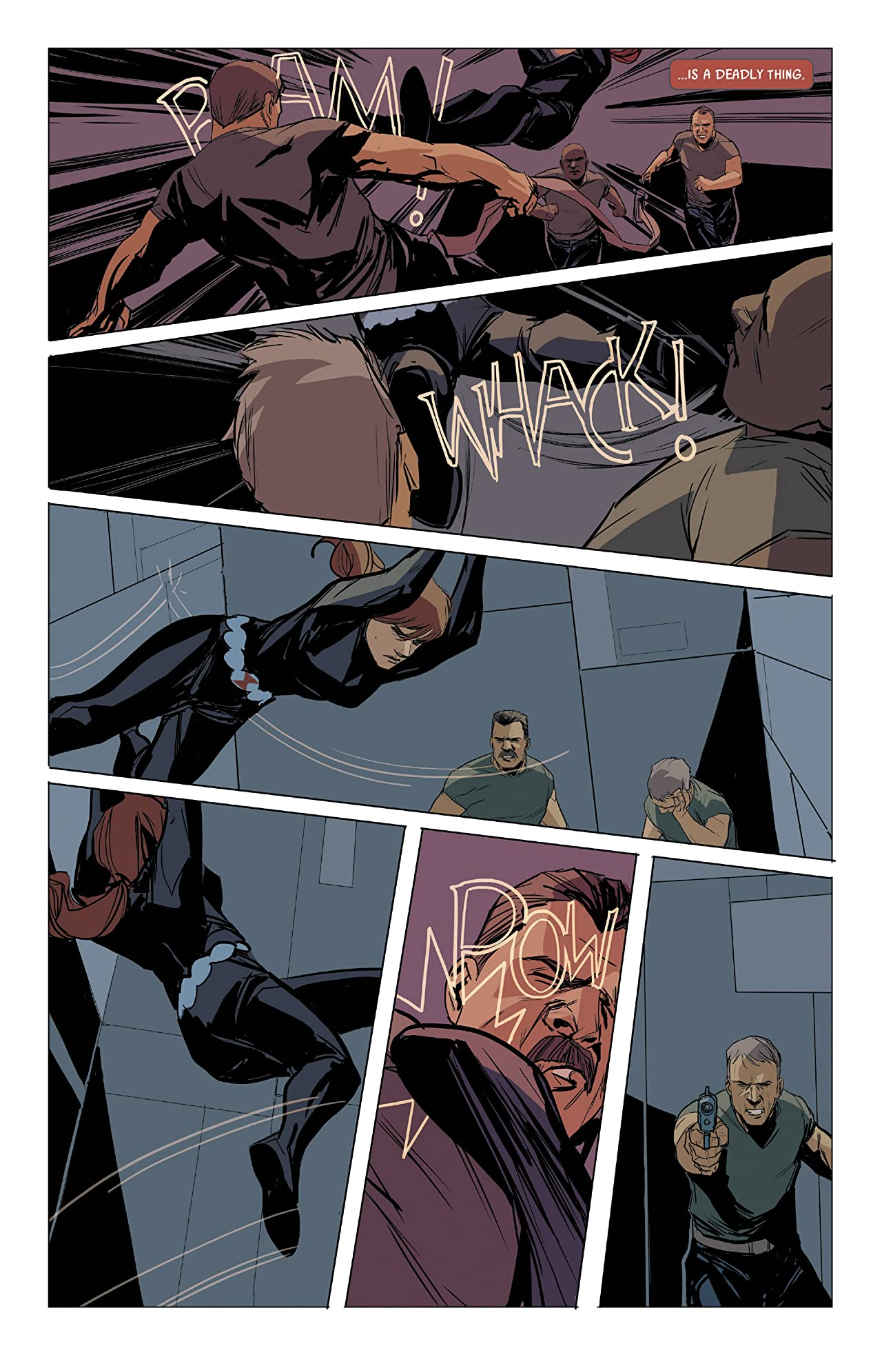 Black Widow (2014-2015) #6