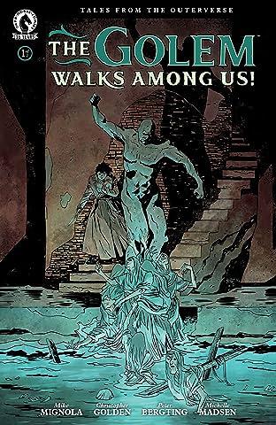 The Golem Walks Among Us! No.1