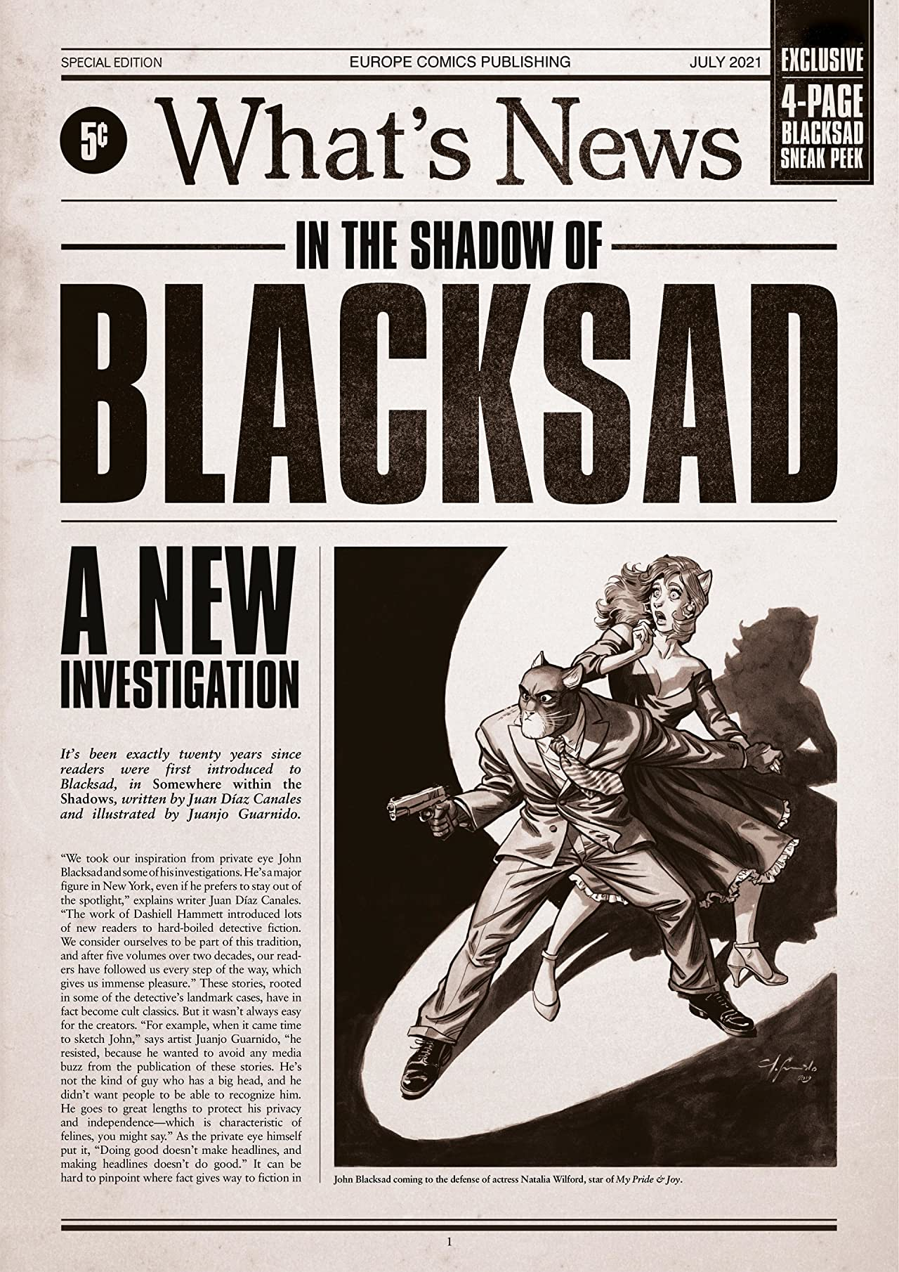 Blacksad - Special Edition: What's News