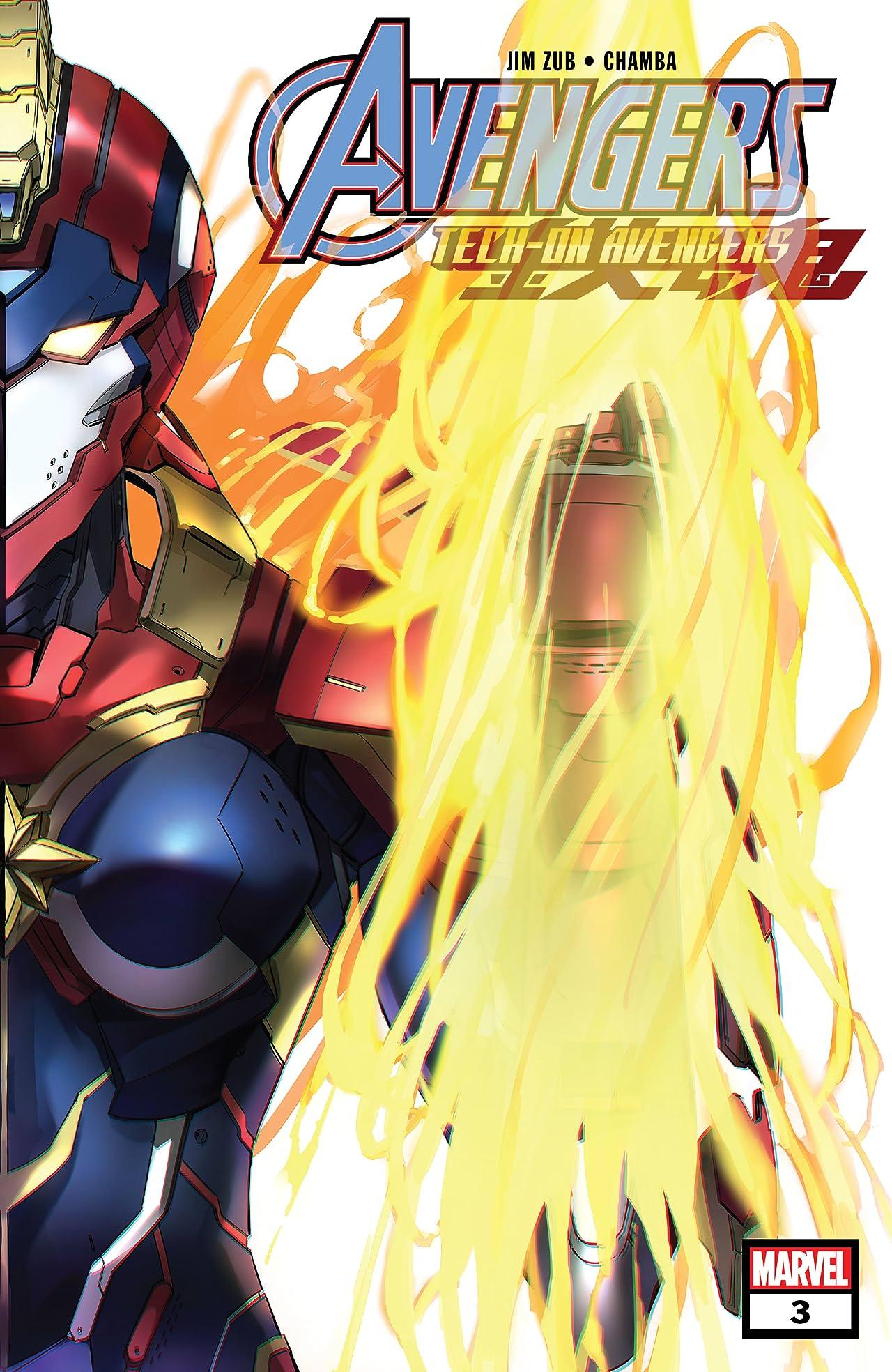 Avengers: Tech-On (2021-) #3 (of 6)