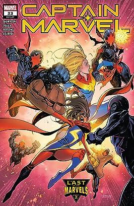 Captain Marvel (2019-) #33