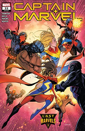 Captain Marvel (2019-) No.33