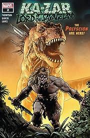 Ka-Zar Lord of the Savage Land (2021) #2 (of 5)