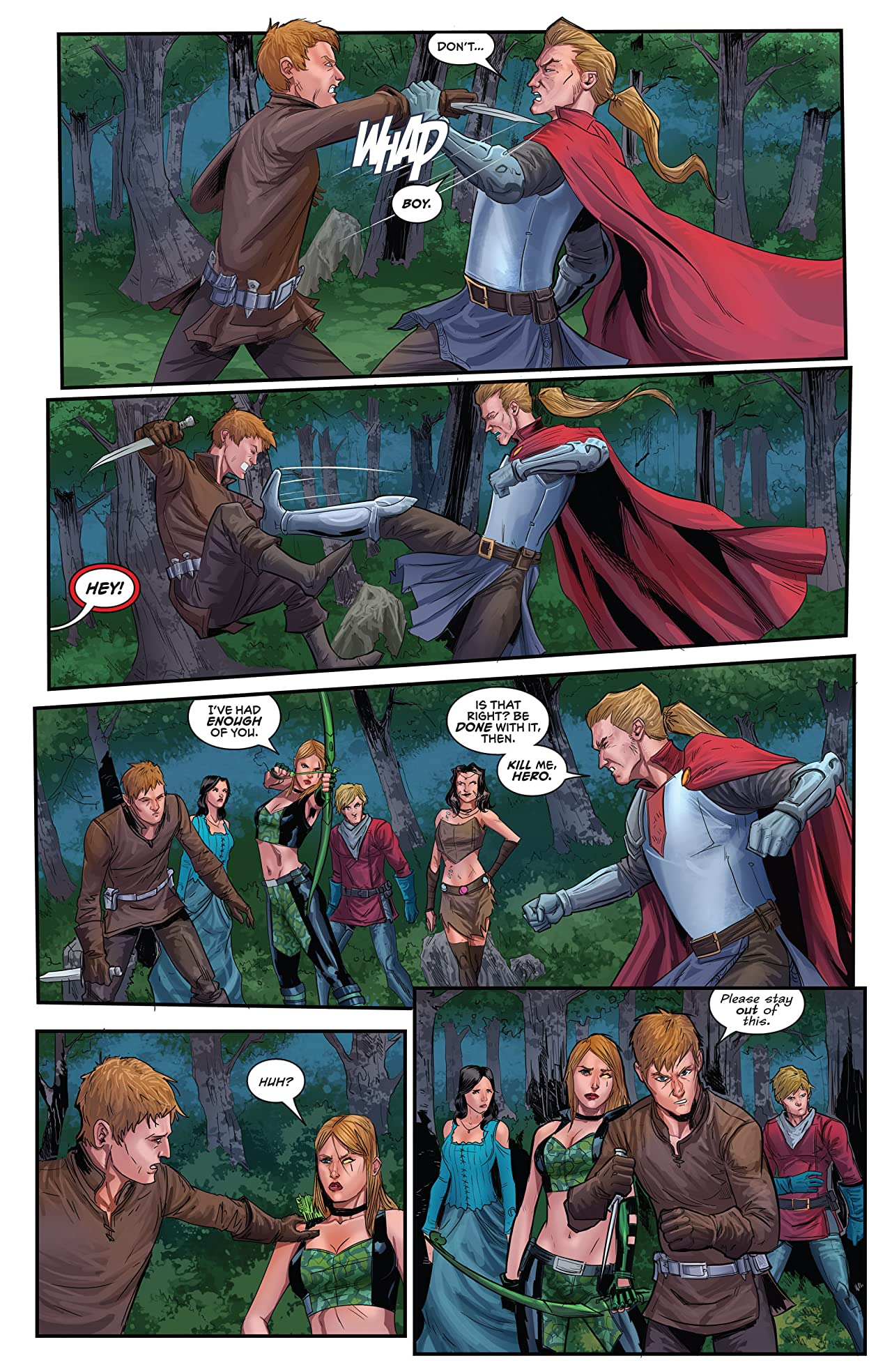 Robyn Hood #3 (of 5): Legend