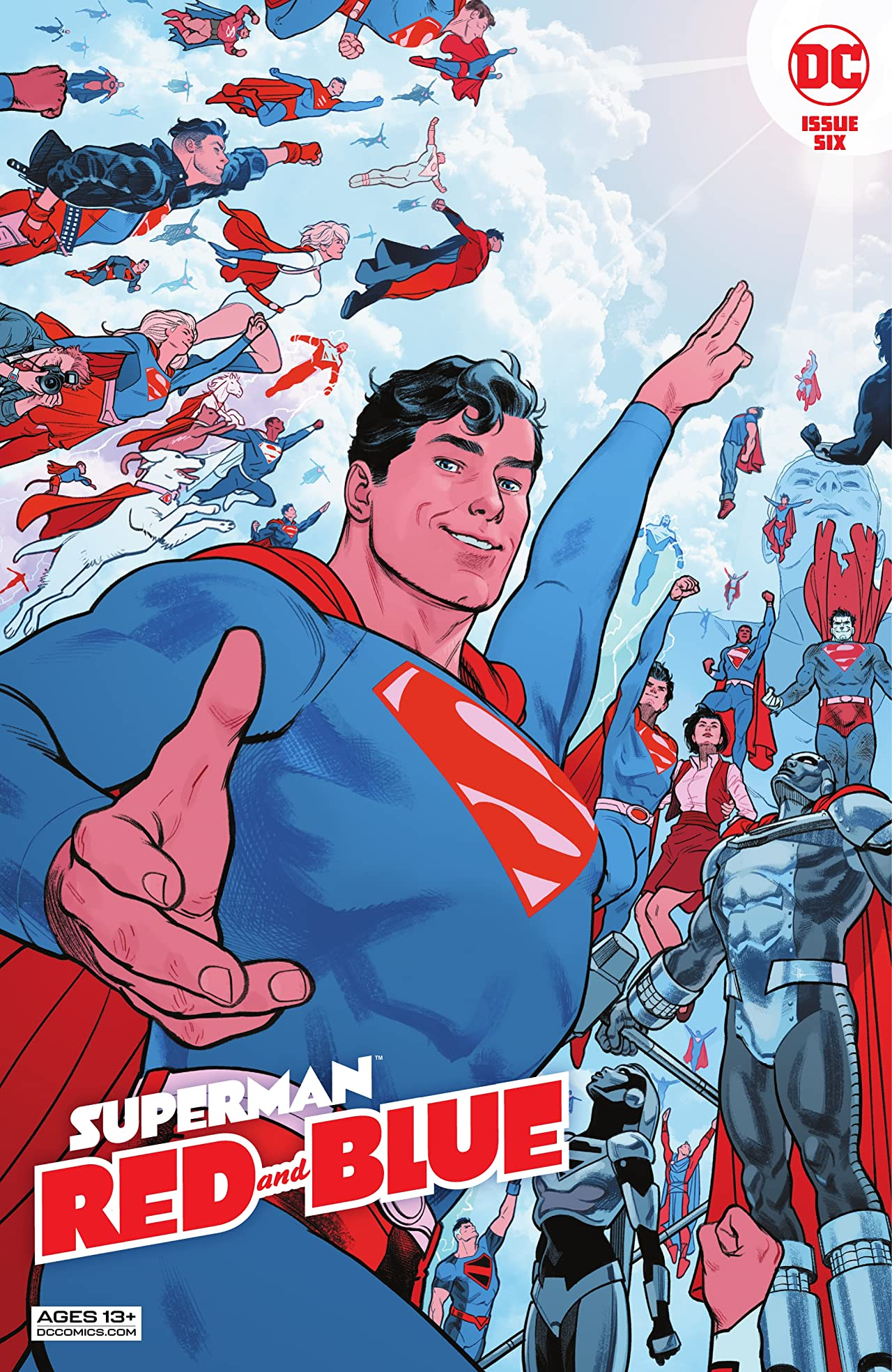 Superman Red & Blue (2021-) #6