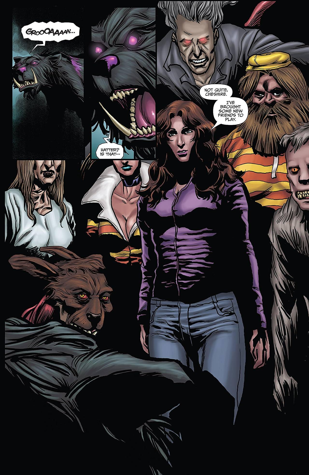 Wonderland: Asylum #5 (of 5)