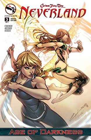 Grimm Fairy Tales Neverland: Age of Darkness #3 (of 4)
