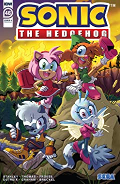 Sonic The Hedgehog (2018-) #46