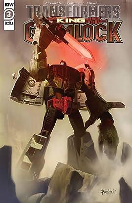 Transformers: King Grimlock #3 (of 5)