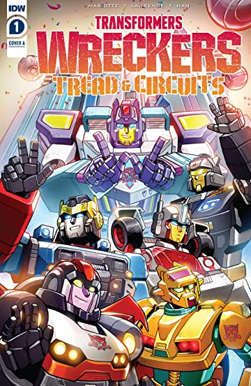 Transformers: Wreckers—Tread & Circuits #1 (of 4)
