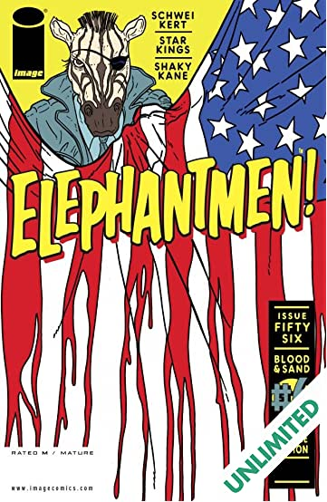 Elephantmen #56
