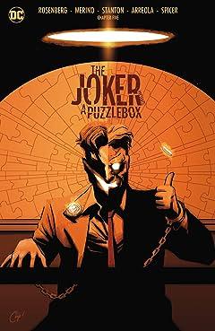 The Joker Presents: A Puzzlebox (2021-) #5: Director's Cut