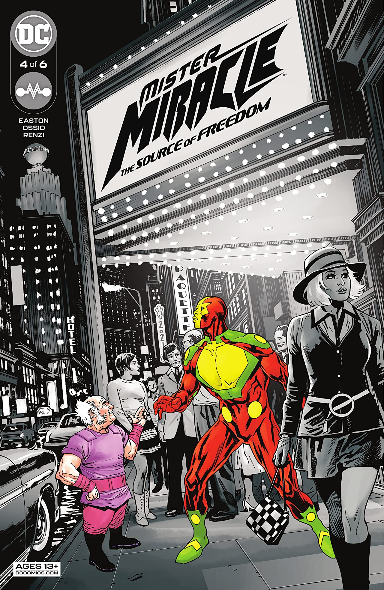 Mister Miracle (2021) #4: The Source of Freedom
