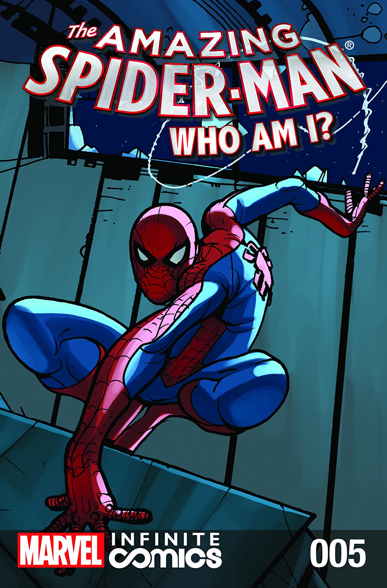 Amazing Spider-Man: Who Am I? Infinite Digital Comic #5