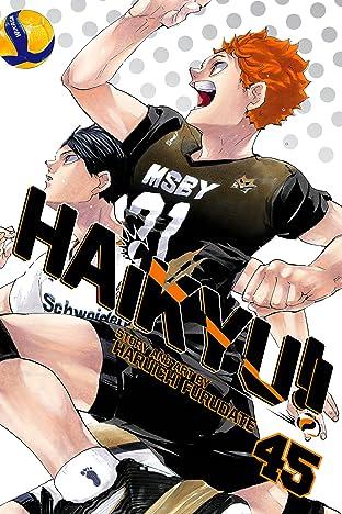 Haikyu!! Vol. 45: Challengers