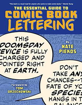 The Essential Guide to Comic Book Lettering