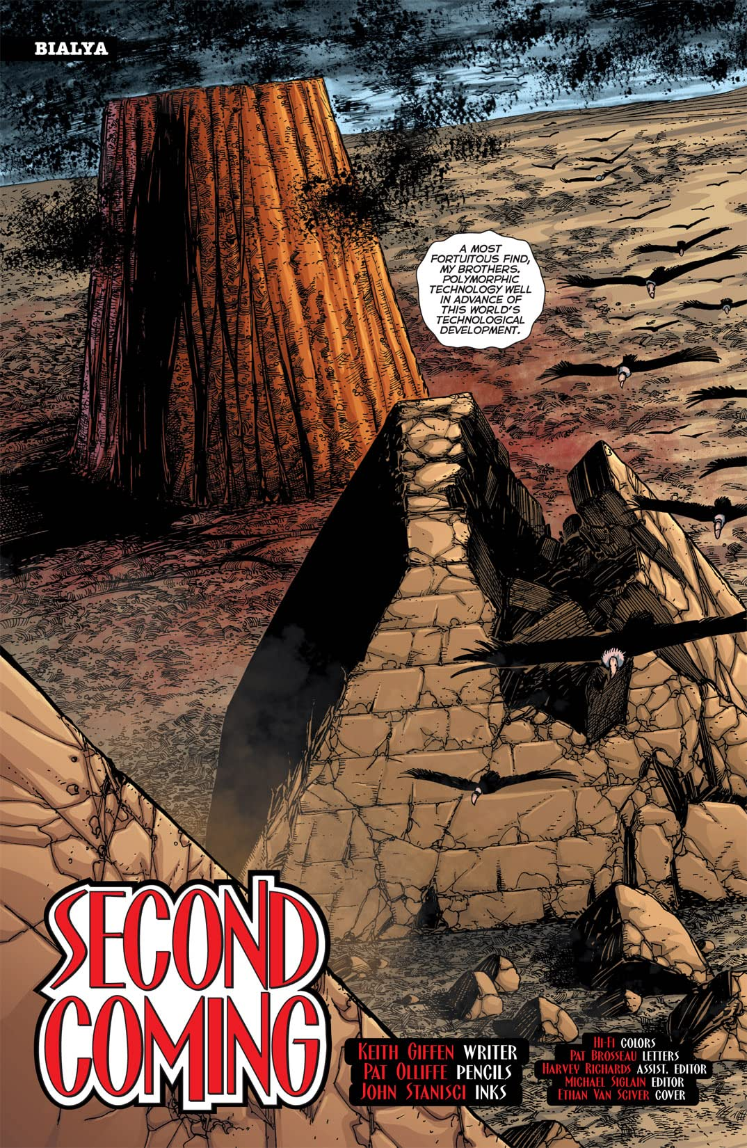 52 Aftermath: The Four Horsemen #3 (of 6)