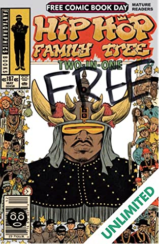 FCBD 2014: Hip Hop Family Tree Two-in-One