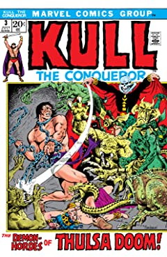 Kull The Conqueror (1971-1973) #3