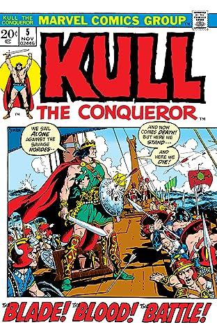 Kull The Conqueror (1971-1973) #5