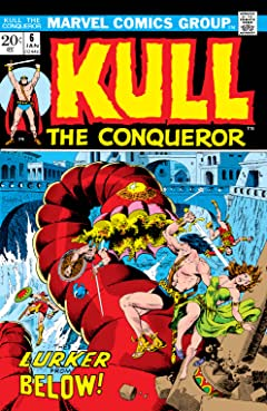 Kull The Conqueror (1971-1973) #6