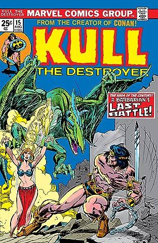 Kull The Destroyer (1973-1978) #15