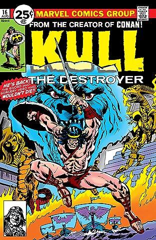 Kull The Destroyer (1973-1978) #16