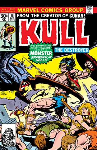 Kull The Destroyer (1973-1978) #18