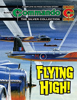 Commando #5470: Flying High!